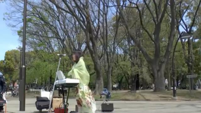 ヘブンアーティスト 川島由美 上野公園 アメイジンググレース amazing grace